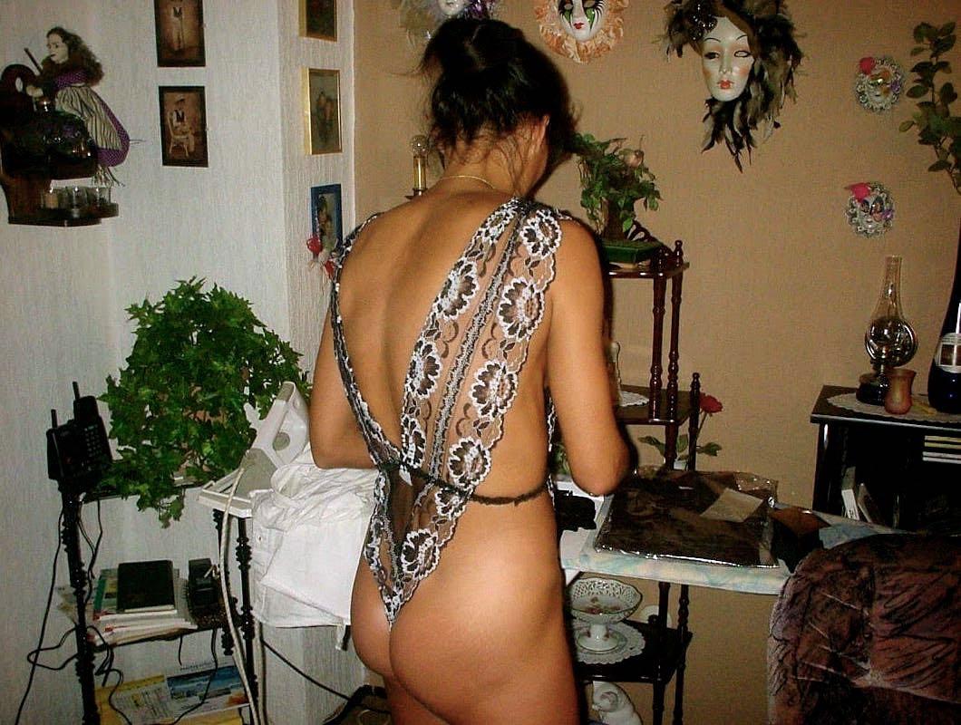 Reale Hausfrau reif und geil